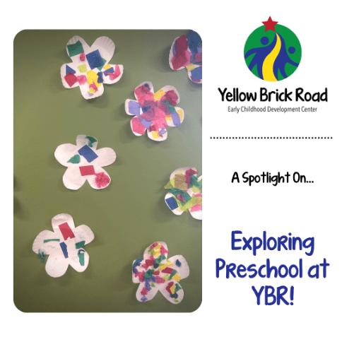 exploring preschool at ybr