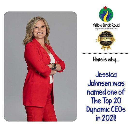 Jessica Johnsen Top CEO 2021 YBR Preschool