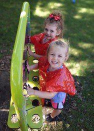 kids outside playing